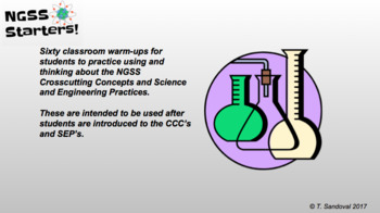 NGSS Warm-Ups and Class Starters for Science