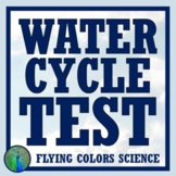 NGSS Water Cycle Test Assessment NGSS MS-ESS2-4 (Middle School)