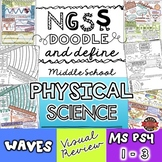 NGSS Waves Doodle Notes for Middle School (Physical Scienc