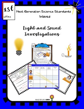 NGSS Waves: Light and Sound 1-PS4-3 Effect of Objects on a