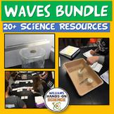 NGSS Waves Properties & Electromagnetic Spectrum Growing R