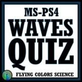 NGSS Waves Quiz - Middle School NGSS MS-PS4-1 MS-PS4-2