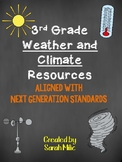 NGSS 3rd Grade Weather and Climate Resources!