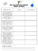 NGSS Weather and Climate Student Checklist and Posters