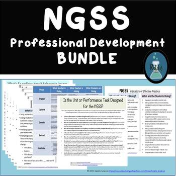 NGSS and 5E NGSS Professional Development Bundle
