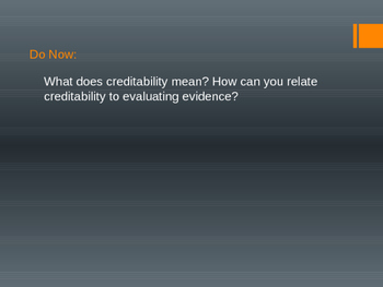 NGSS based ppt on Evidence Quality Evaluation