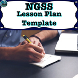lesson plan editable template compatible with NGSS*
