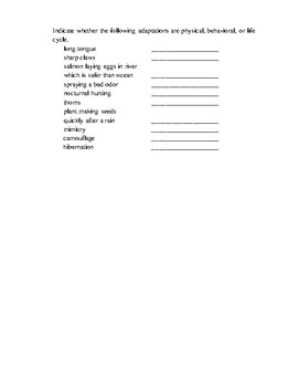 NGSSS Diversity/Evolution of Living Organisms and Interdependence Study Guide