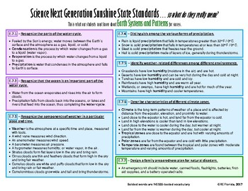 NGSSS Earth Systems and Patterns Teacher Guide
