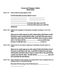 NGSSS Forces and Changes in Motion Study Guide