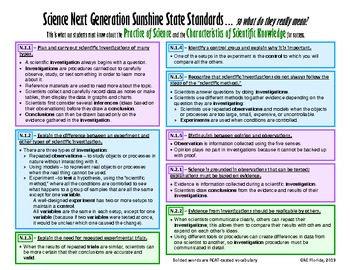 NGSSS Practice of Science/Scientific Knowledge Teacher Guide