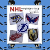 NHL Coordinate Graphing Activity Bundle