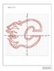 NHL Graphing Activity - Calgary Flames on a Coordinate Plane