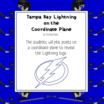 NHL Graphing Activity - Tampa Bay Lightning on a Coordinate Plane
