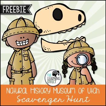 NHMU Field Trip Scavenger Hunt - FREE