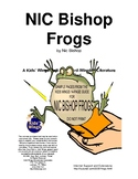 NIC BISHOP 3 SCIENCE BOOKS:  FROGS, SPIDERS, AND BUTTERFLIES AND MOTHS