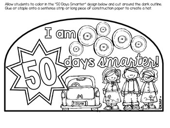 NIFTY FIFTIES {Literacy Based Unit for the 50th Day of School!}