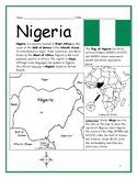 NIGERIA - Printable handout