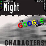 NIGHT Characters Organizer (Created for Digital)