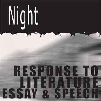 NIGHT Essay Prompts & Grading Rubrics (by Elie Wiesel)