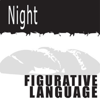 Night Figurative Language Organizer 45 Quotes By Created For Learning