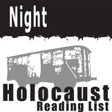 NIGHT Holocaust Reading List