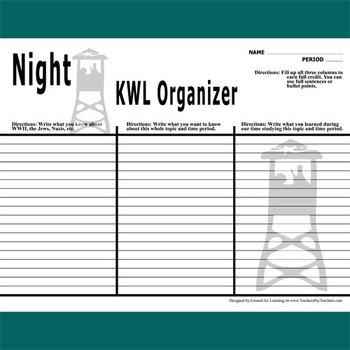 NIGHT KWL Organizer