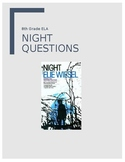 NIGHT Novel Study Question Sets (9 sections)
