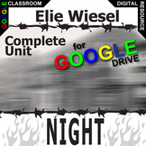NIGHT Unit Plan (Elie Wiesel) Novel Study Literature Guide (Created for Digital)
