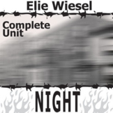NIGHT by Elie Wiesel Unit - Memoir Study Bundle - Literatu