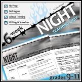 NIGHT Unit Plan (Wiesel) - Memoir Study Bundle - Literature Guide