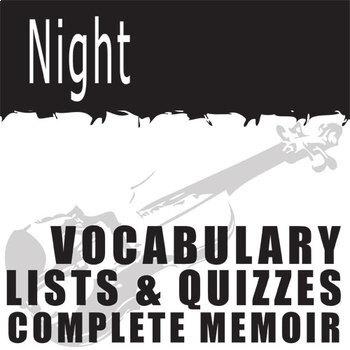 NIGHT Vocabulary Complete Novel (120 words)