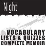 NIGHT Vocabulary Complete Memoir (120 words)