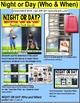 """NIGHT or DAY Task Cards """"Task Box Filler"""" for Special Education and Autism SET 1"""