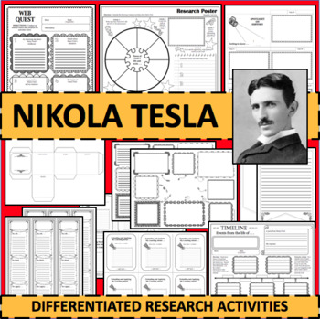 NIKOLA TESLA Biographical Biography Research Activities DIFFERENTIATED!