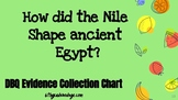 NILE DBQ  Evidence Collection Chart [TPT]