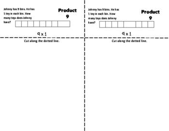 NINES Multiplication Fact Fluency Flip Book: Grades 3-5