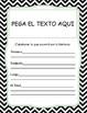 CENTROS DE LECTURA - NIVEL AVANZADO - SPANISH LITERACY CENTERS  K-4 CC STANDARDS