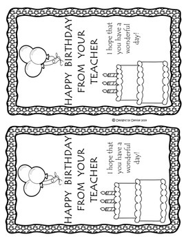 NIfty Notes - Printable Notes To Give To Parents and Students