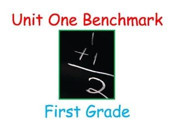 NJ Model Curriculum First Grade Unit One Practice Benchmark
