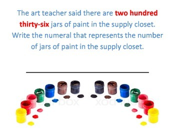 NJ Model Curriculum Second Grade Unit One Practice Benchmark