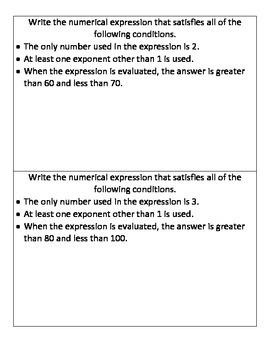 NJ Model Curriculum Sixth Grade Unit Three Practice Packet