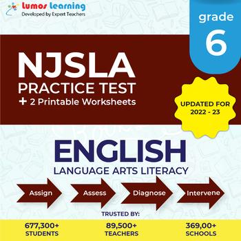 NJSLA Test Prep Language Arts - NJSLA Practice Test & Worksheets Grade 6 ELA