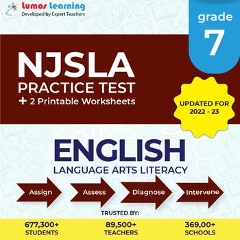 NJSLA Test Prep Language Arts - NJSLA Practice Test & Worksheets Grade 7 ELA
