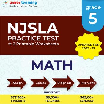 NJSLA Test Prep Math - NJSLA Practice Test & Worksheets Grade 5 Math
