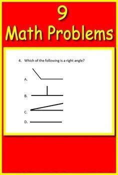 NJSLA Test Prep Reading and Math Freebie: Passages, Questions Math Problems