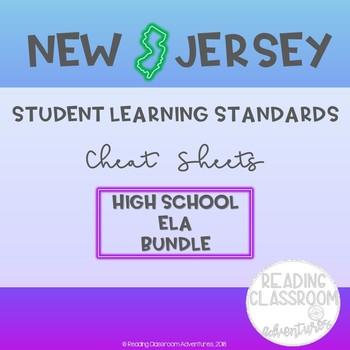 NJSLS ELA Grades 9-10 Cheat Sheets
