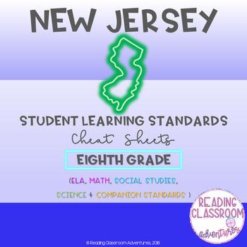NJSLS Eighth Grade Cheat Sheets