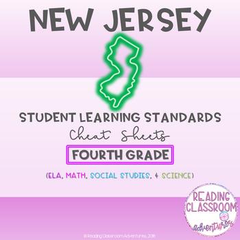 NJSLS Fourth Grade Cheat Sheets