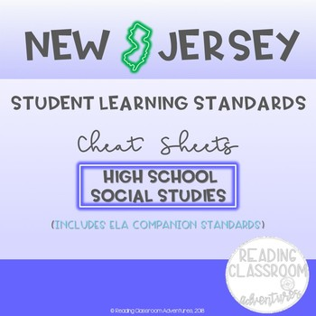 NJSLS High School Social Studies Cheat Sheets